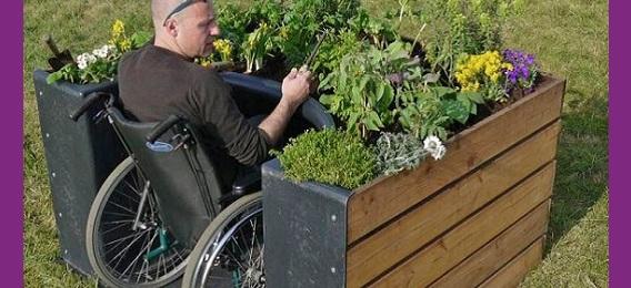 TERRAform : des jardins adaptés pour personnes à mobilité réduite, une belle initiative !