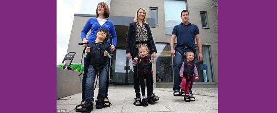 """""""The Upsee"""", l'innovation qui fait marcher les enfants à mobilité réduite"""