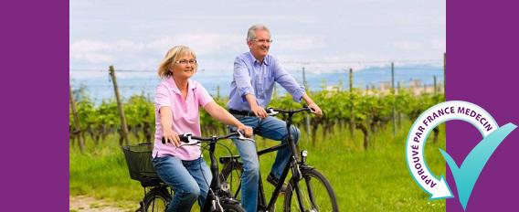 Faire du vélo quand on est senior