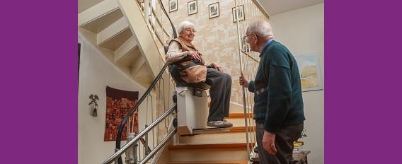 Aménagement du domicile : focus sur l'escalier !